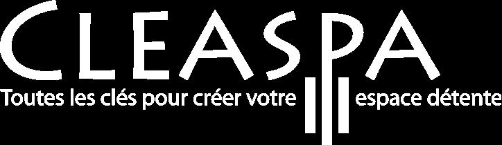 logo cleaspa blanc